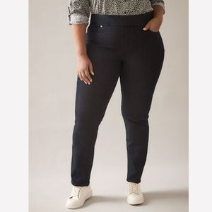 Penningtons DC Jeans Stretchy Skinny Pull On Jeggings Jeans Plus Size Casual